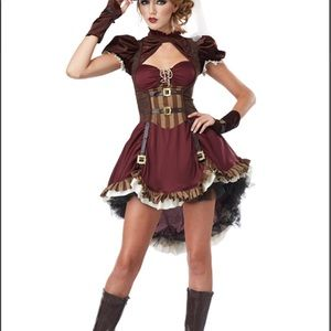 Dresses & Skirts - Steampunk Girl Costume Women's Medium 8-10 fits 14